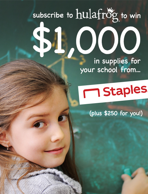 Subscriber Giveaway. Win $1000 in supplies for your school...plus, $250 for you! Voting begins August 5, 2019