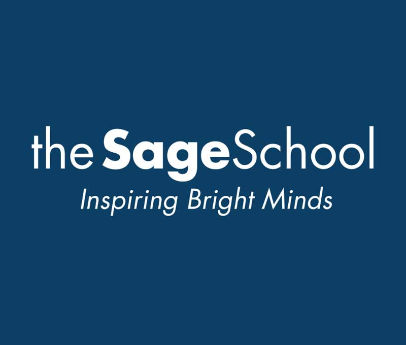 the sage school logo