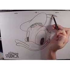 earn to Draw Donald Duck