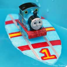 Make Toy Surfboards for Trains