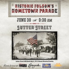 Folsom-EDH, CA Events for Kids: Historic Folsom's Hometown Parade and Festivities
