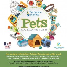 Pets Expo & Adoption Event at The Enclave at Anthem