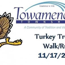 Doylestown-Horsham, PA Events for Kids: Towamencin Turkey Trot 5k Walk/Run