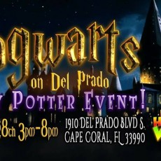 Things to do in Fort Myers, FL for Kids: 2nd Annual Hogwarts On Del Prado Harry Potter Event, Red Headed Witches