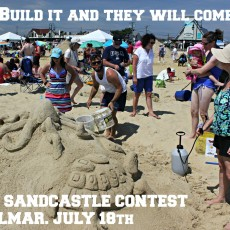 Southern Monmouth, NJ Events for Kids: 2018 Sandcastle Contest