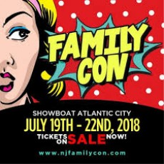 Things to do in Cape May County, NJ for Kids: New Jersey Family Con 2018, Showboat Hotel Atlantic City