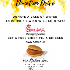 Free Sandwich with Donation