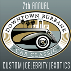 Things to do in Burbank, CA for Kids: 7th Annual Downtown Burbank Car Classic, Downtown Burbank