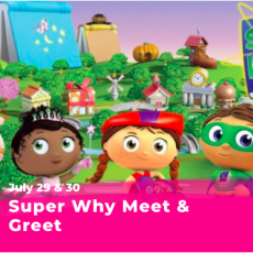 Things to do in Cincinnati Eastside, OH for Kids: Super Why Meet & Greet, Coney Island Amusement Park