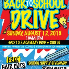 Back To School Drive (Haircuts)