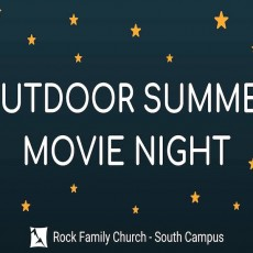 Outdoor Summer Movie Night