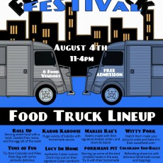 Widefield Food Truck Festival- District 3 School Supply Drive