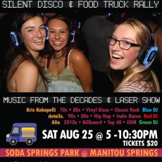 Back to School Silent Disco & Food Truck Rally