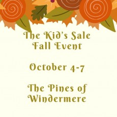 The Kids Sale Fall Event