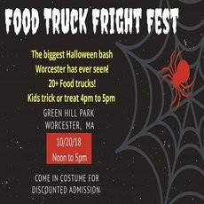 Things to do in Worcester, MA for Kids: Food Truck Fright Fest, Worcester Food Trucks