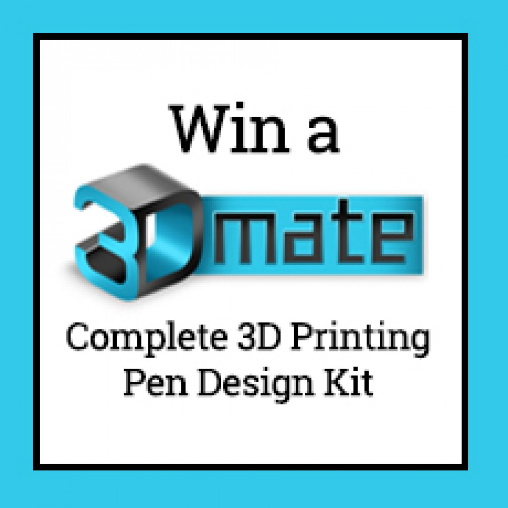 3Dmate Trio September 2018 Giveaway