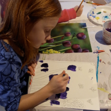 Children can stretch their imaginations at week-long art camps.