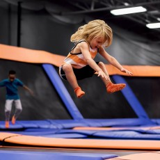 Things to do in Southern Monmouth, NJ for Kids: FLY with our Pink Troll!, Sky Zone Ocean, NJ