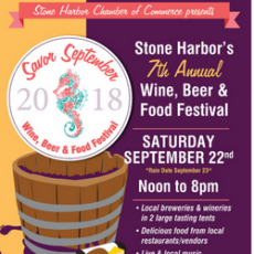 7th Annual Stone Harbor Savor September Food, Wine and Beer Festival (Family Friendly!)