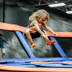 Things to do in Canton-Plymouth, MI for Kids: Santa's Wonderland Toddler Time, Sky Zone Canton