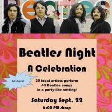 Things to do in Folsom-EDH, CA for Kids: Beatles Night-A Celebration, Nicholsons MusiCafe