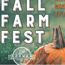 Fall Farm Fest at Gorman Heritage Farm