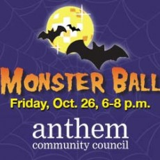 Things to do in Phoenix North, AZ for Kids: Monster Ball, Anthem Community Center
