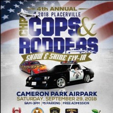 Things to do in Folsom-EDH, CA for Kids:  Placerville CHP Cops & Rodders Car Show, Cameron Airpark