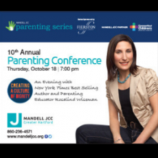 Things to do in West Hartford-Farmington Valley, CT for Kids:  10th Annual Parenting Conference, Mandell JCC of Greater Hartford