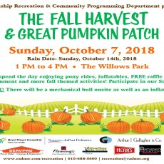 Things to do in Eastern Main Line, PA for Kids: Fall Harvest & Great Pumpkin Patch, Radnor Township