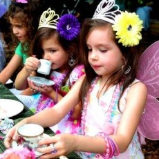 Things to do in Fort Myers, FL for Kids: Fairy Tea Party, Rotary Park