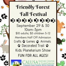 Things to do in Fort Myers, FL for Kids: Friendly Forest Fall Festival, Calusa Nature Center & Planetarium