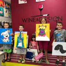 Things to do in Southern Monmouth, NJ for Kids: Kids' Open Art Studio, Wine and Design Howell