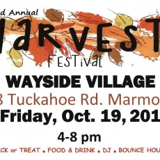 2nd Annual Harvest Festival at the Wayside Village