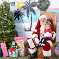 Things to do in San Diego East County, CA for Kids: Santa at the Lakes, Santee Lakes