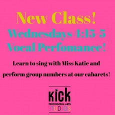 Vocal Performance, Ages 6-11