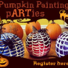 Pumpkin painting pARTy (Family Day)