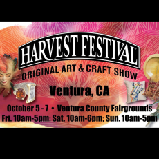 Ventura Harvest Festival, Original Art & Craft Show