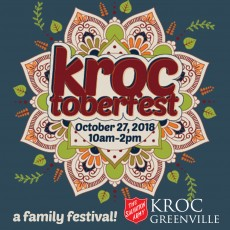 Things to do in Greenville, SC for Kids: Kroctoberfest, Salvation Army Ray and Joan Kroc Corps Community Center of Greenville, SC