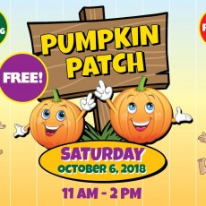 Things to do in Myrtle Beach, SC for Kids: Pumpkin Patch, Coastal North Town Center
