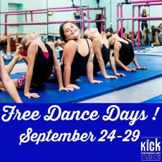 Things to do in Red Bank, NJ for Kids: Free Dance Days At Kick, Kick Dance Studio