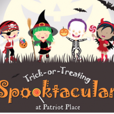 Things to do in Mansfield-Attleboro, MA for Kids: Trick-or-Treating SPOOKtacular at Patriot Place, Patriot Place