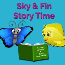 Things to do in Sioux Falls, SD for Kids: Sky & Fin Story Time, Butterfly House & Aquarium