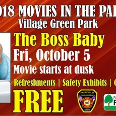 Movies in the Park: Boss Baby