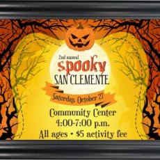 Things to do in San Clemente-Laguna, CA	 for Kids: 2nd Annual Spooky San Clemente, City of San Clemente