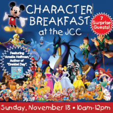 Things to do in Bridgewater NJ for Kids: Character Breakfast!, Shimon and Sara Birnbaum JCC Bridgewater