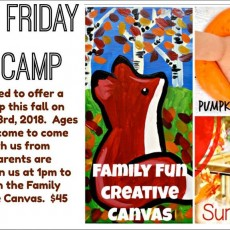 Things to do in Richmond South, VA for Kids: Black Friday Fall Camp, Art Factory and Party Place