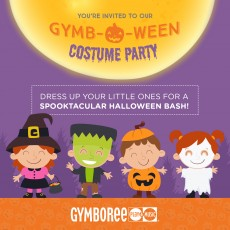 Southern Monmouth, NJ Events for Kids: GymbOWEEN Party - 10 - 16 Months