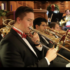 Joy to the World! 26-piece brass/percussion holiday concert