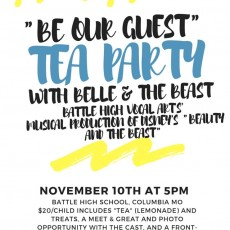Columbia, MO Events for Kids: Be Our Guest Tea Party